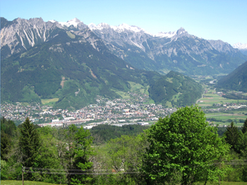 Few to Bludenz, Bürs and Klostertal